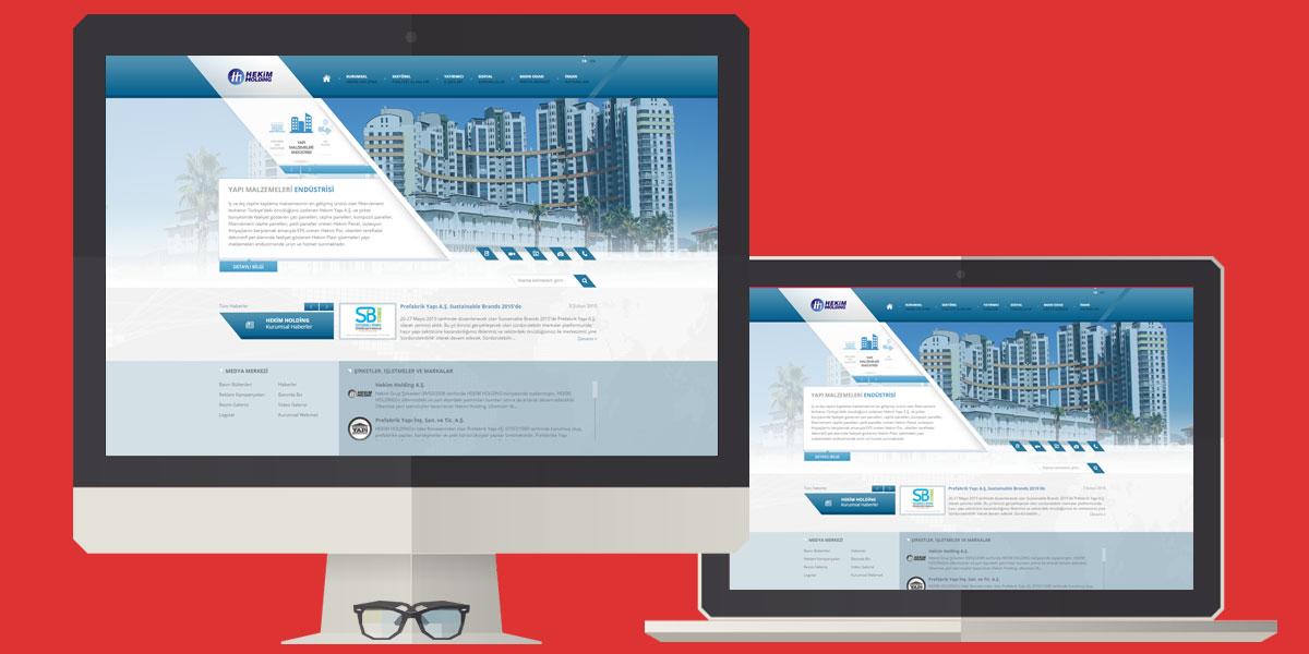 Unternehmens-Web-Site-Referenz