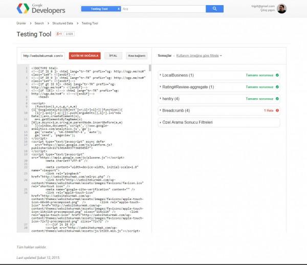 google-structured-data-resultaat