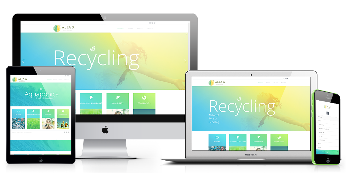 Abhishek Recycling Unternehmens-Website Referenz-Agentur